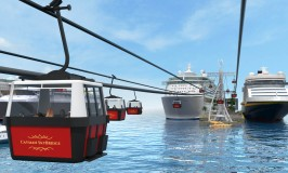 Grand Cayman Concept: Cable Cars to Replace Cruise Tenders