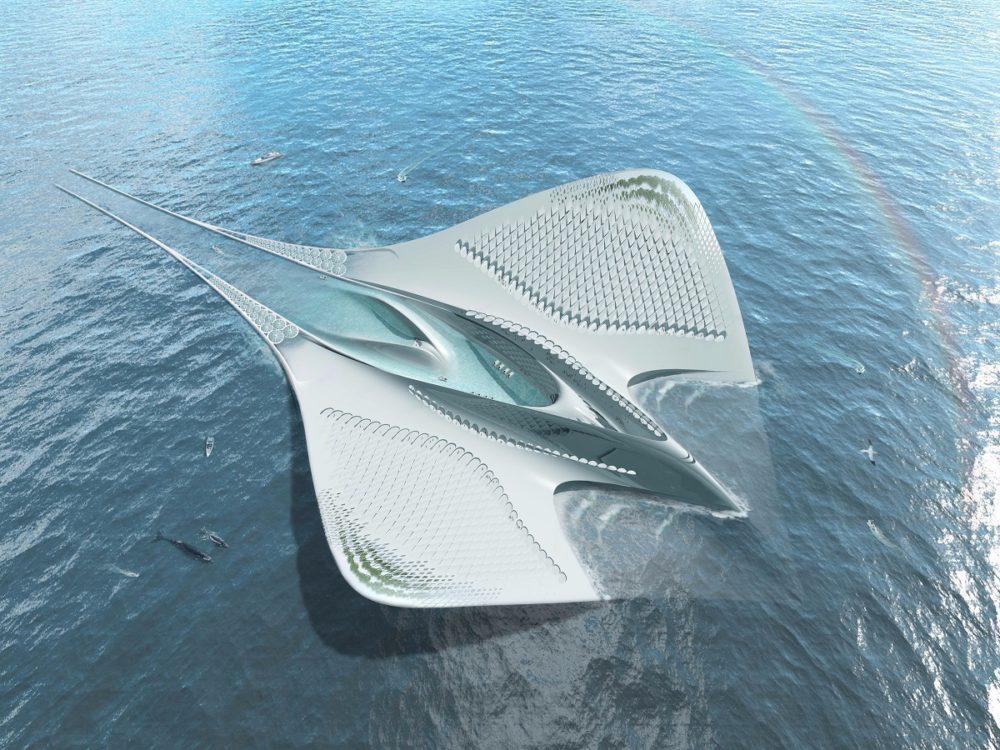 The Half Mile Long Futuristic Cruise Ship