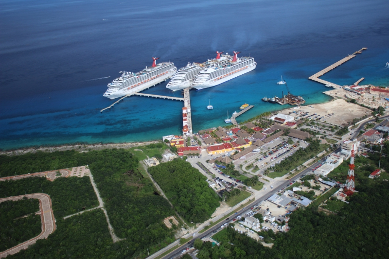 Carnival Corporation Opens Third Cruise Berth In Cozumel