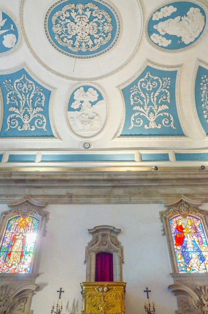 Ceiling of Sanctuary