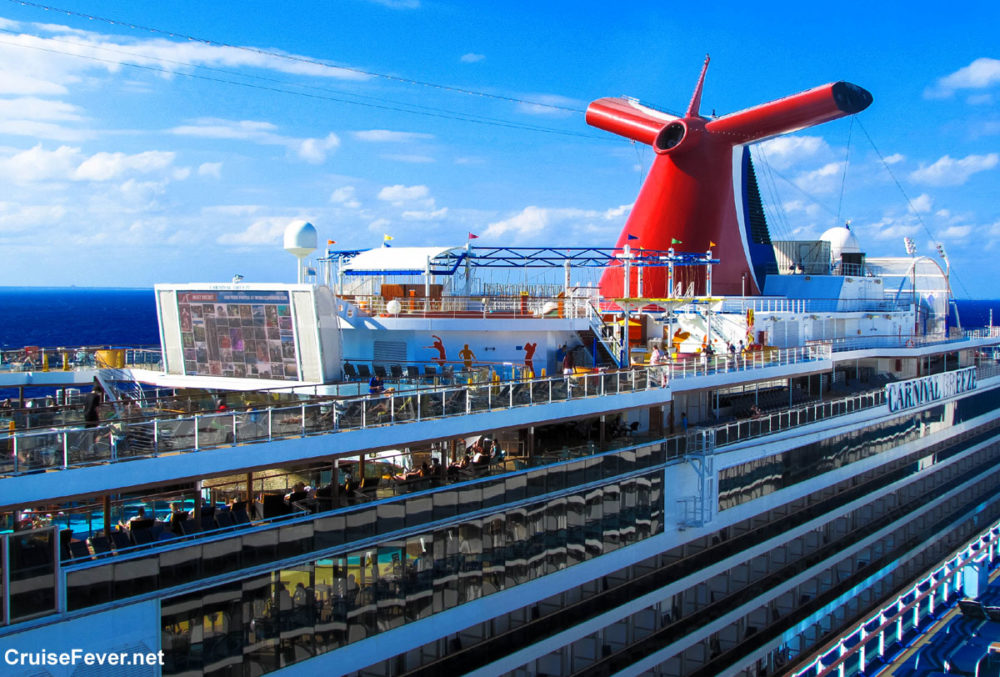 carnival cruise line refines beverage carryon policy