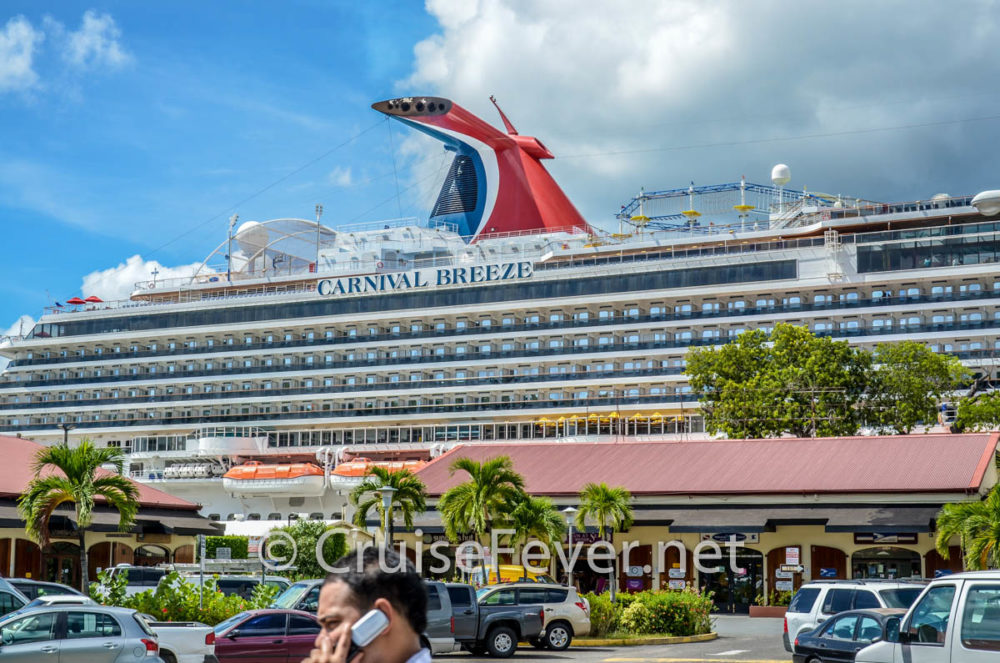 Carnival Cruise Ship Emerges From Dry Dock After Multi