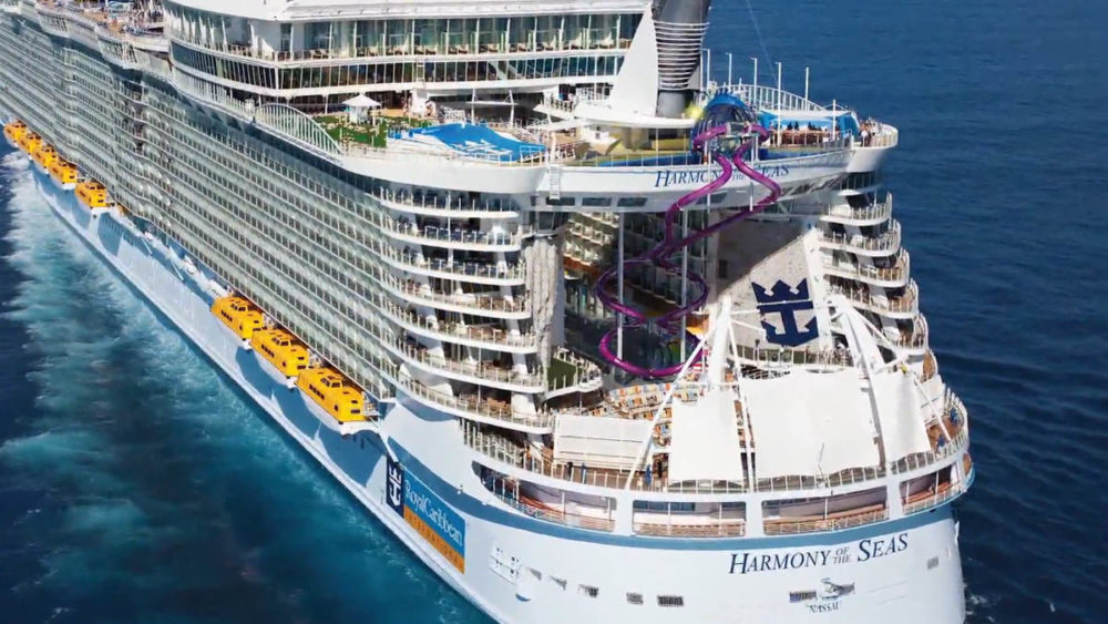 Royal Caribbean Reveals 10 Story Slide On The World39s Largest Cruise Ship