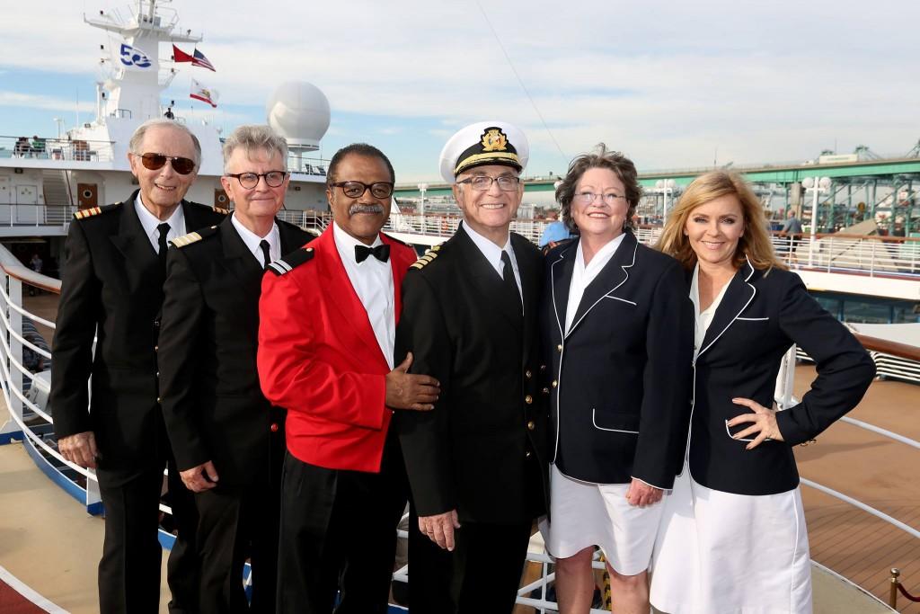 Love Boat Cast Reunites For Princess Cruises 50th Anniversary