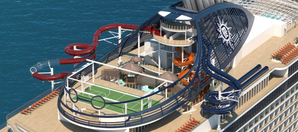 Best Cruise Ship Waterparks - Cruise ship slide
