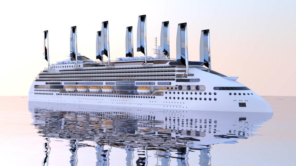 LOI Signed To Build WindSolar Powered Cruise Ship - Cruise ship fuel