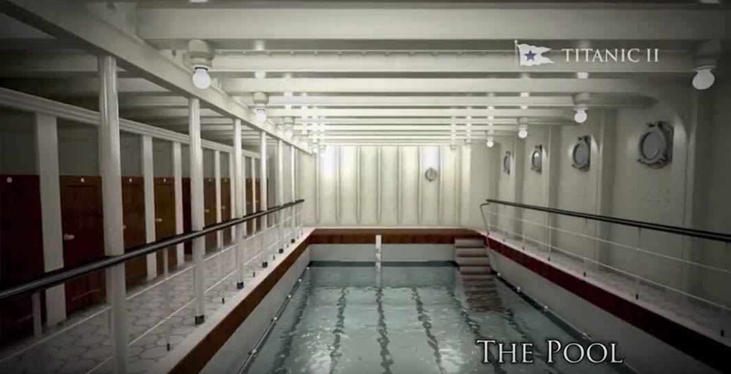 Titanic ii photo tour ship set to debut in 2018 - Fitness first gyms with swimming pools ...