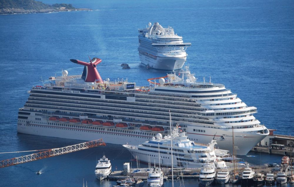 Carnival Magic Receiving Upgrades Including Guys Burger Joint - Sensation cruise ship pictures