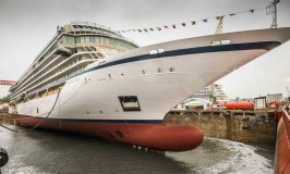 Viking Ocean Cruises Floats Out Third Cruise Ship – Viking Sky