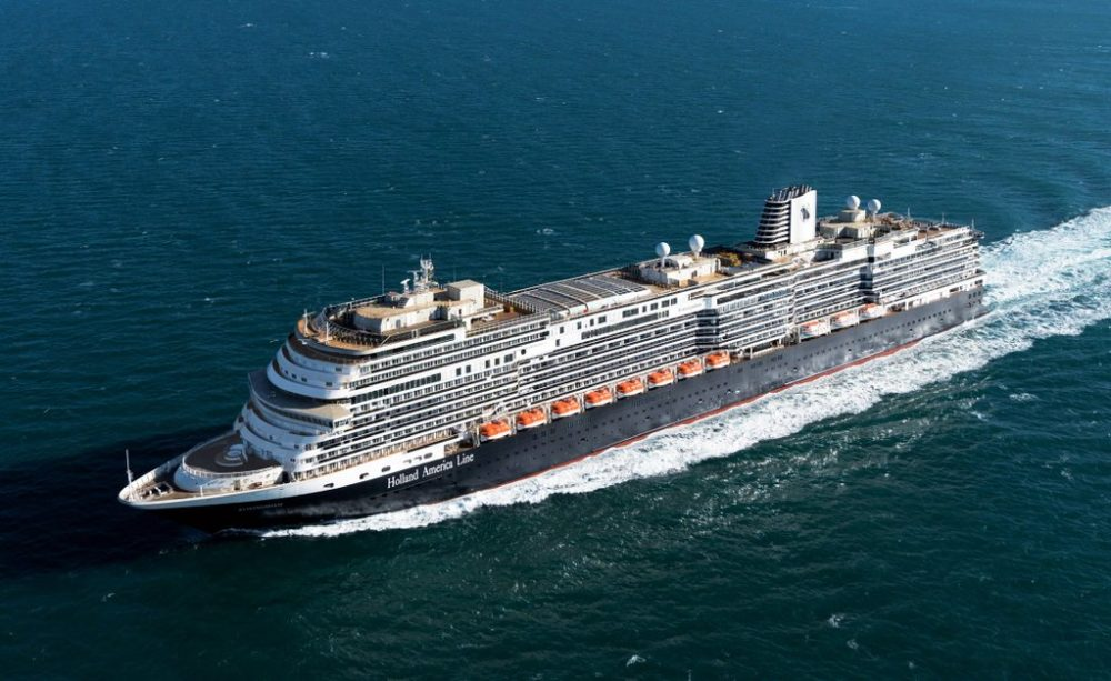 Holland America Line Receives Delivery Of Their Newest Cruise Ship - Cruise ship sound effects