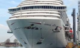 Carnival Vista Begins Sea Trials