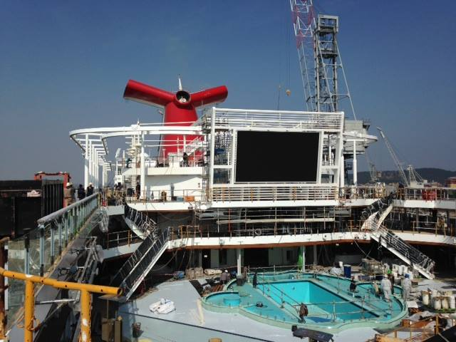 First Inside Look At Carnival Cruise Lines Newest Cruise Ship - Pictures of the inside of a cruise ship