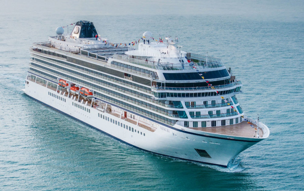viking takes delivery of third ocean cruise ship viking sky