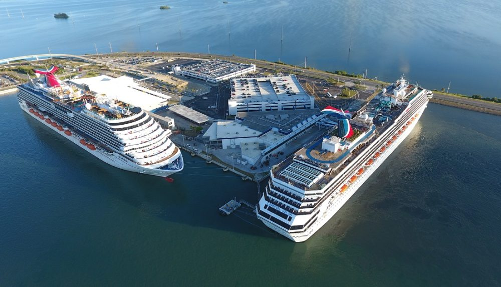Carnival Cruise Ship Inaugurates Renovated Terminal At
