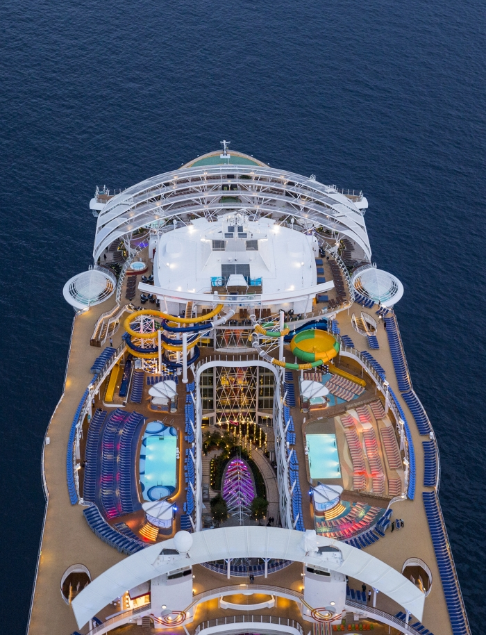 10 Incredible Aerial Photos Of The World S Largest Cruise