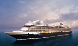 New Holland America Cruise Ship Celebrates Milestone
