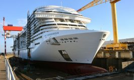 MSC Floats Out Next Generation Cruise Ship: MSC Meraviglia