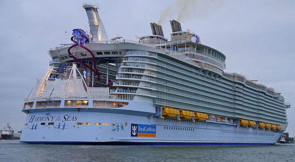 World 39 s largest cruise ship arriving in south florida for Cost of world cruise