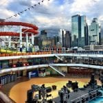 Carnival Cruise Line Christens Their Newest Cruise Ship, Carnival Vista