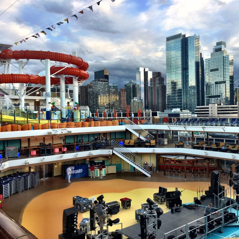 Carnival Cruise Line Christens Their Newest Cruise Ship