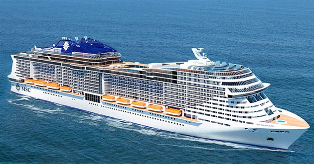 Construction Begins on Another Mega Cruise Ship from MSC ...