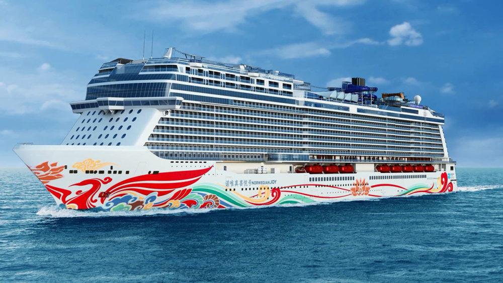 norwegian joy voted 2017 s best new cruise ship