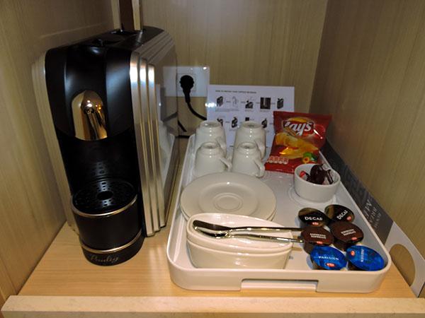 Penthouse Veranda Stateroom On Viking Sea - Viking coffee maker