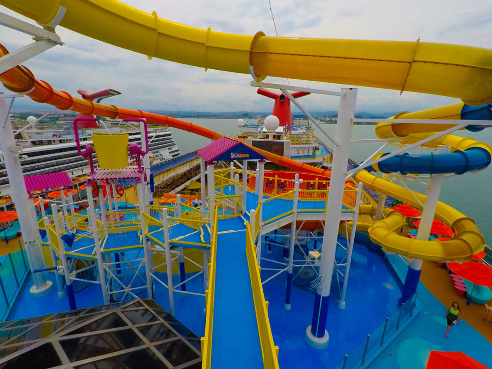 Best Cruise Ship Waterparks - Best cruise ship water slides