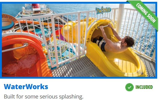 Carnival Cruise Line Adding Waterworks Waterpark To