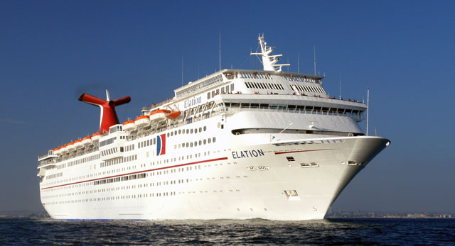 Coast Guard Searching For Passenger Overboard Carnival Elation