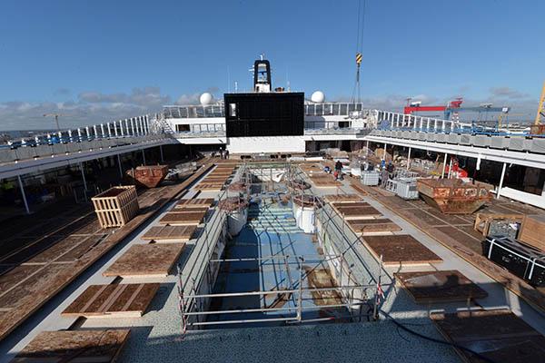100 days until the debut of msc cruises 39 newest mega for Msc meraviglia foto