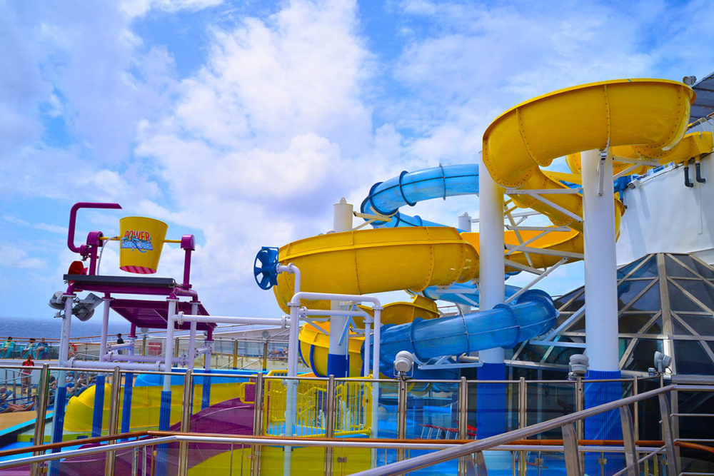 First Look At Carnival S Newest Cruise Ship Waterpark