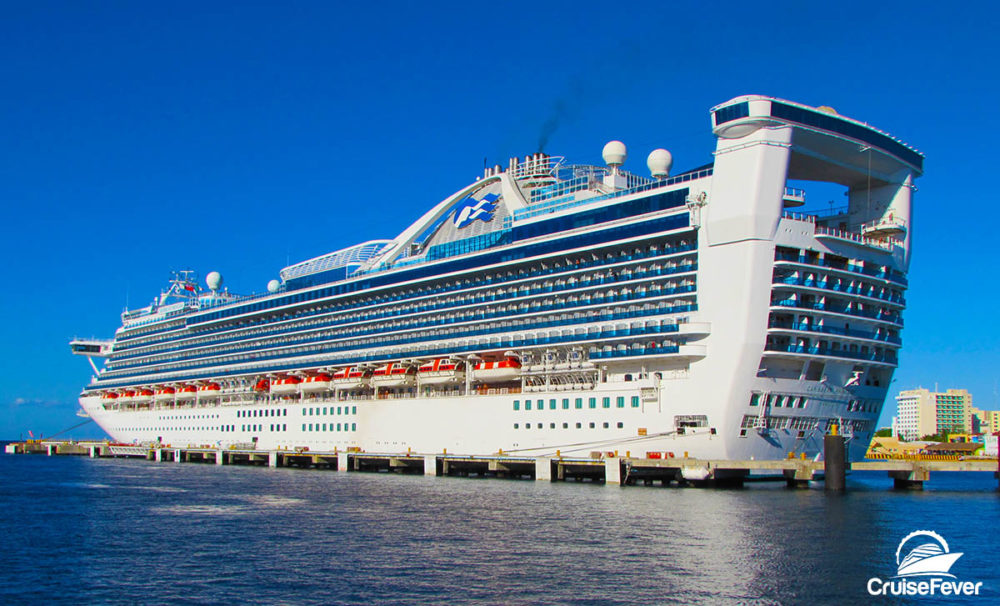 Princess Cruise Ship Receiving Seven New Dining Options Popular - First cruise ship in the world