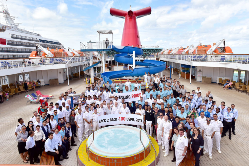 Carnival Cruise Ship Scores Second Straight Perfect Health Score - Jacksonville cruises