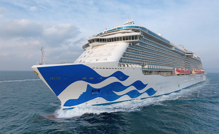 Princess Cruises unveils new luxury Chinese ship