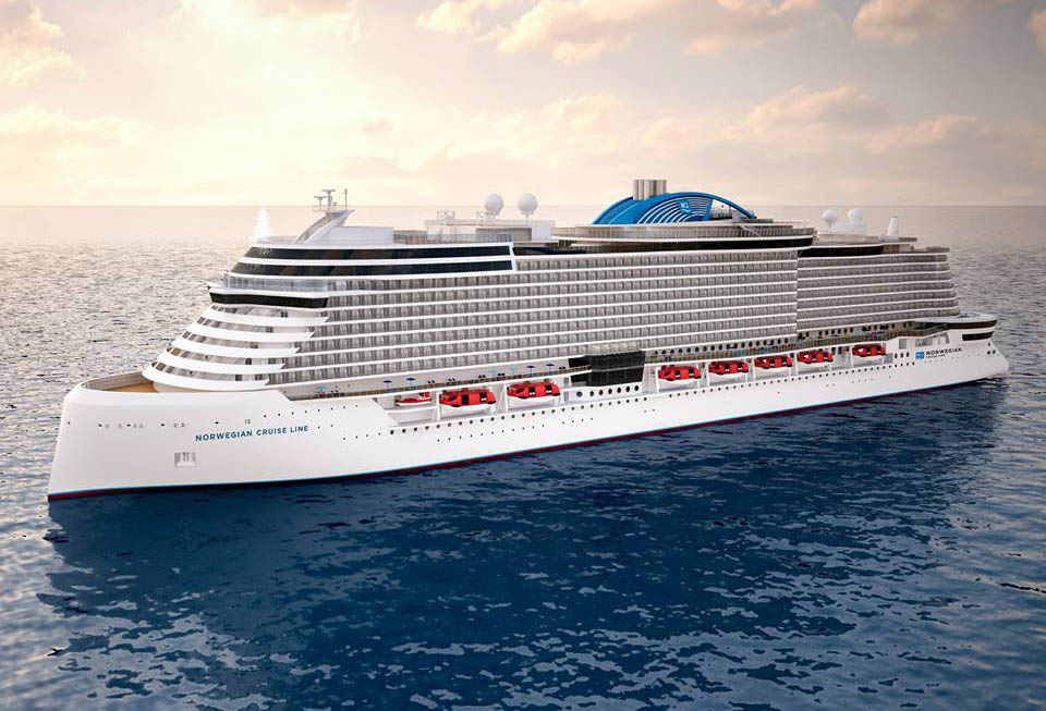 Norwegian Cruise Line Releases Cruise Ship Renderings Of Project - Cruise ship terms
