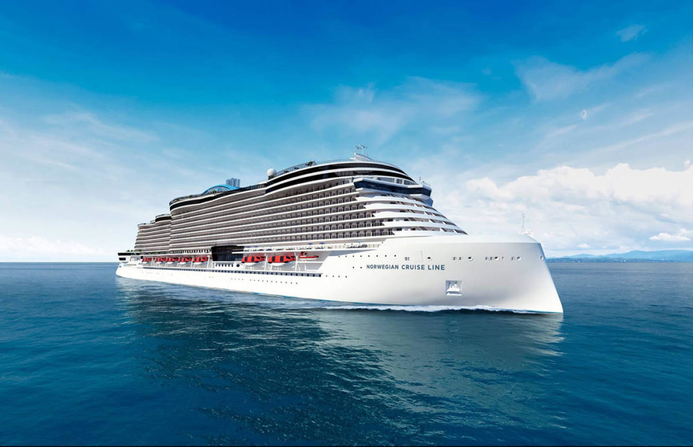 Norwegian Cruise Line Releases Cruise Ship Renderings Of