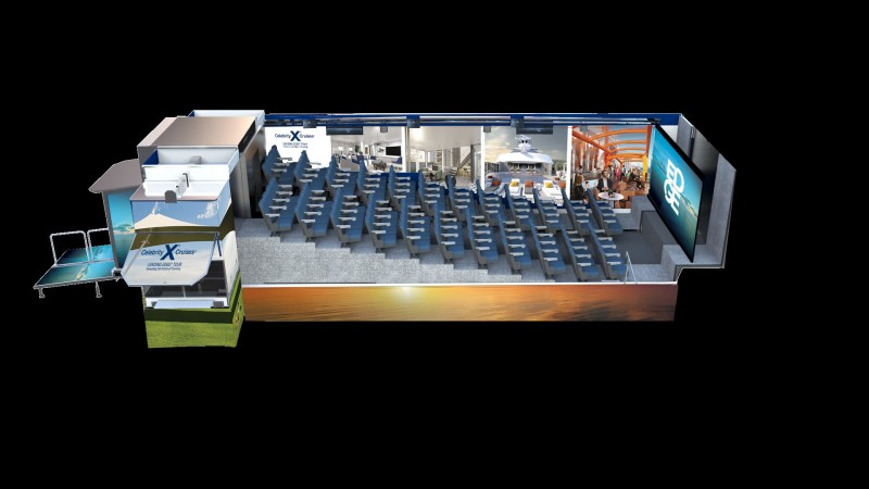Celebrity Cruises Offering Mobile Cinema Tour Of New Cruise Ship - Mobile cruises