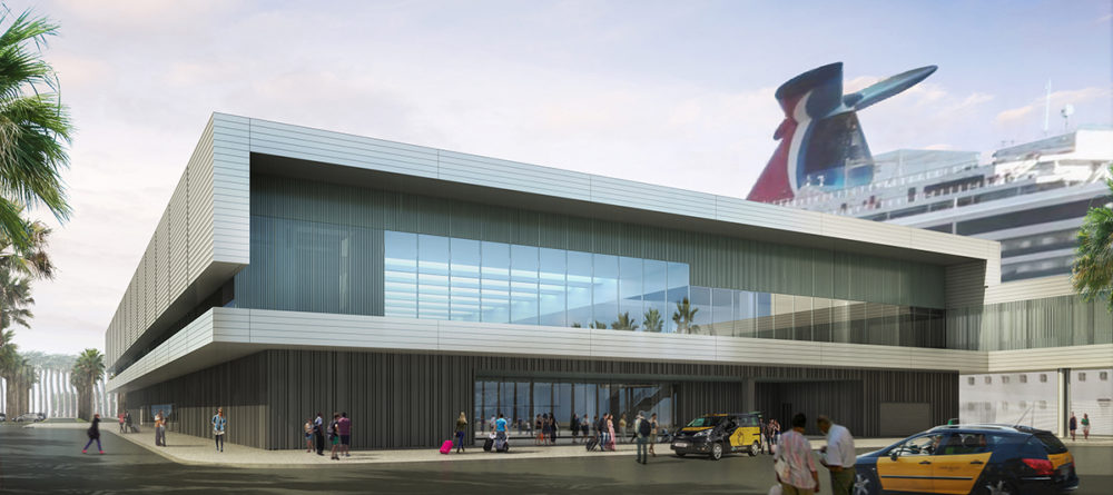 Carnival Unveils Renderings For 2nd Cruise Terminal In