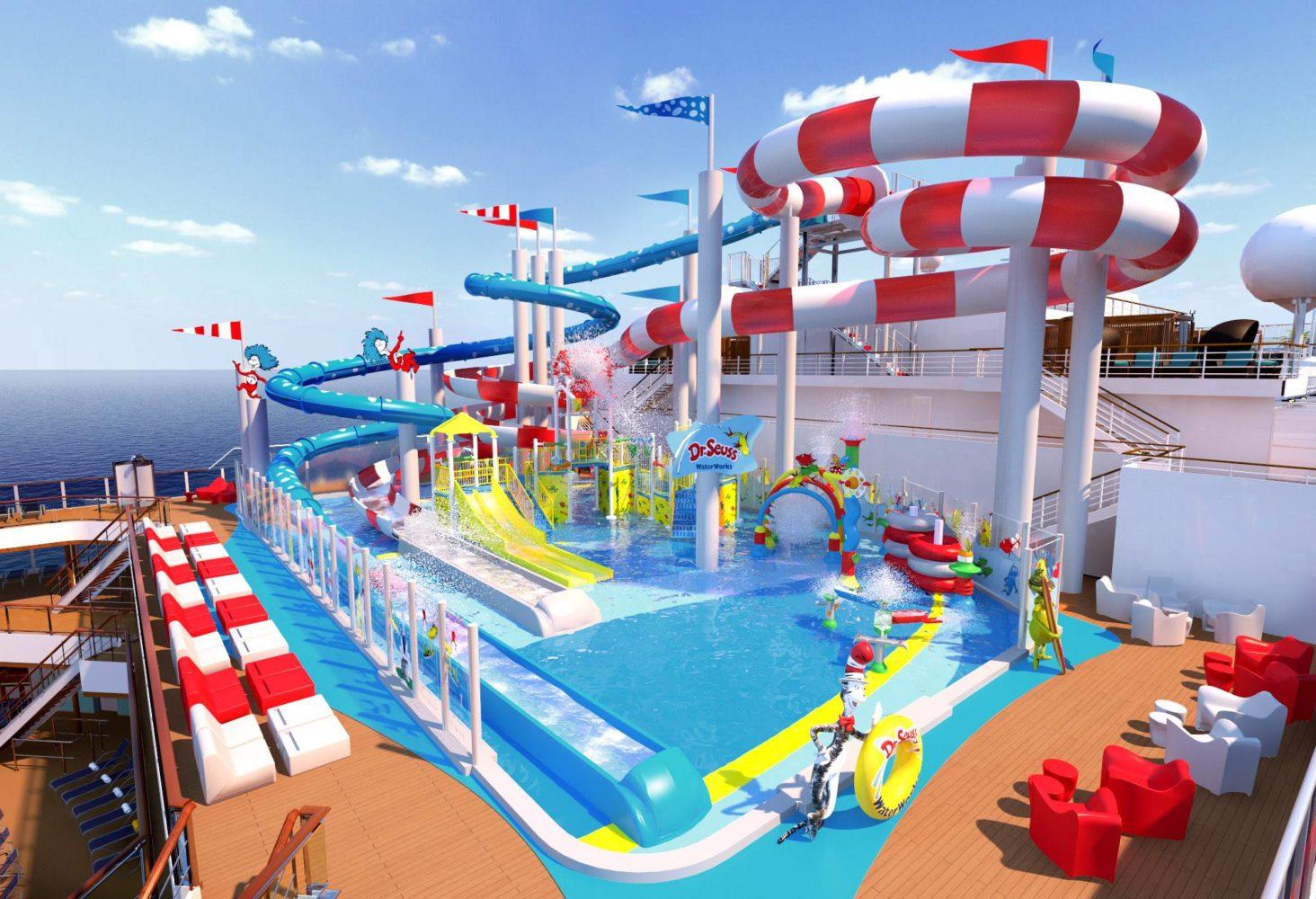 Dr. Seuss WaterWorks Set for Carnival Horizon