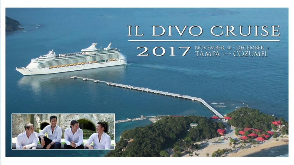 il divo hosting four day caribbean fan cruise
