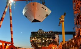 Construction Photos of the World's Largest Cruise Ship, Symphony of the Seas