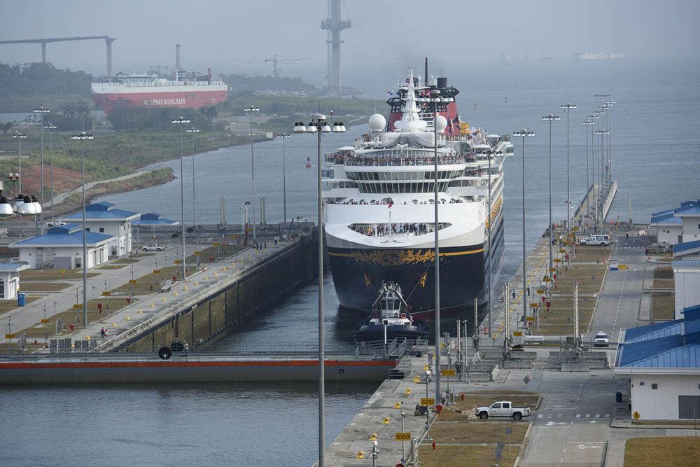 Disney Cruise Ship First Through Panama Canal S New Locks