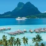 International Cruise Terminal Opening in Tahiti