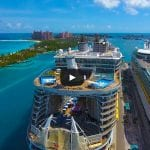 Amazing Drone Video of Cruise Ships in Nassau, Bahamas