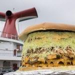 Carnival Creates Largest Cheeseburger at Sea