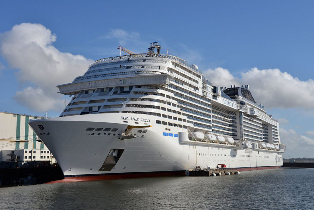 Msc cruises takes delivery of 2017 39 s largest cruise ship for Costa neoriviera piano nave