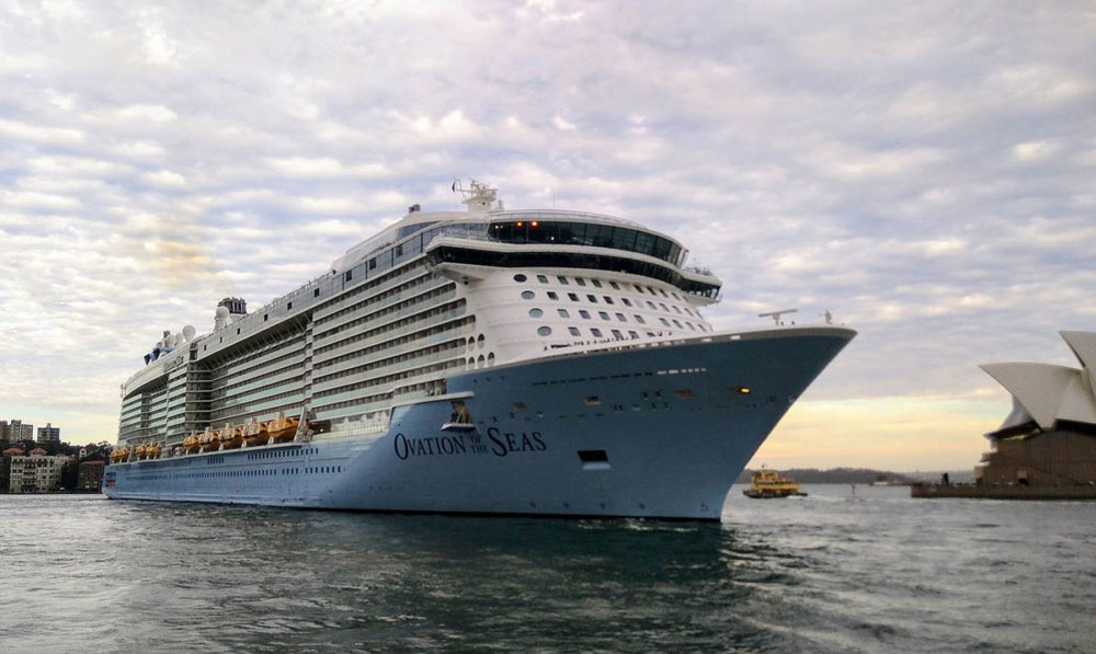 Former Royal Caribbean Cruise Ship Almost Completes Transformation