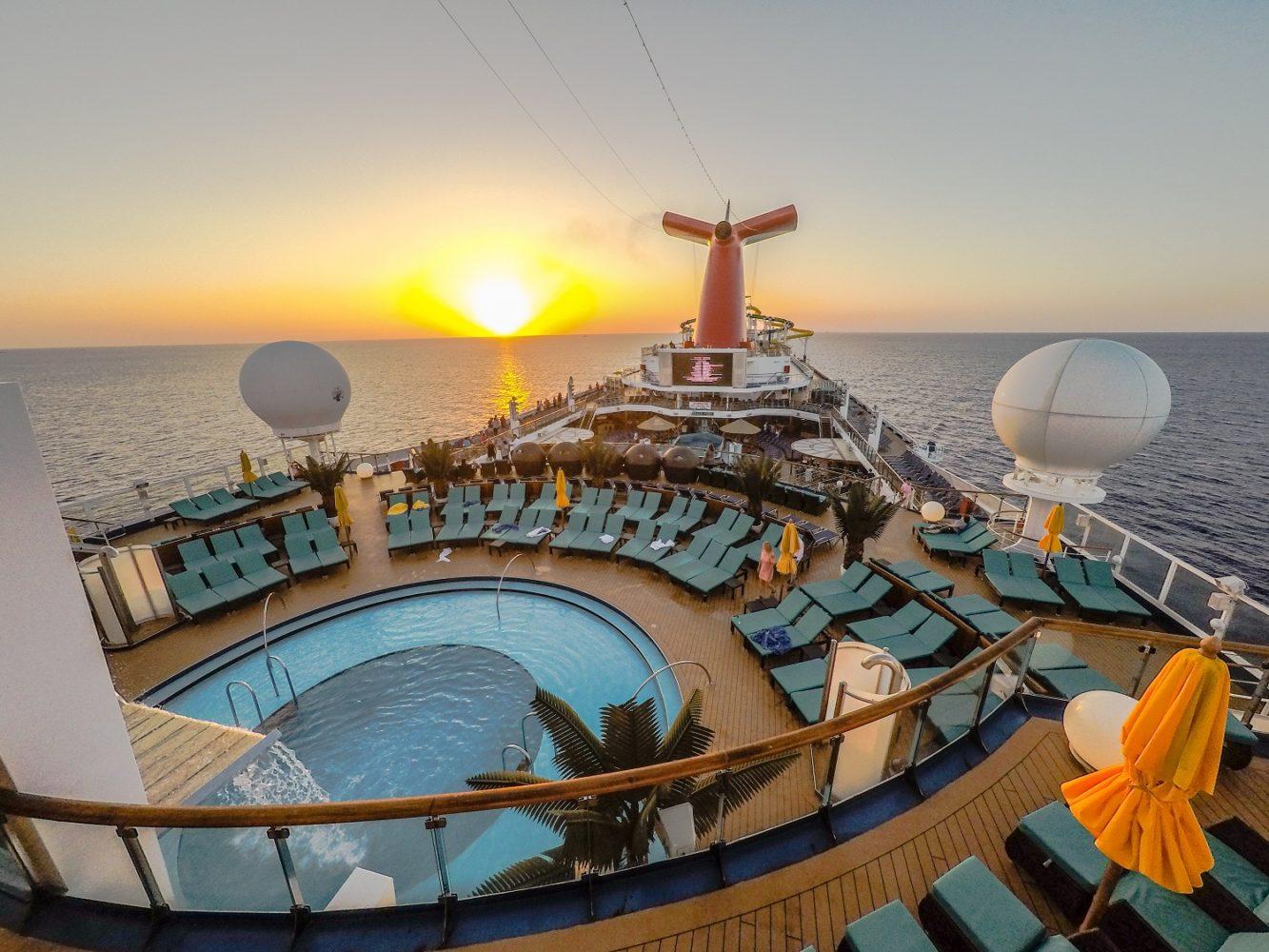 carnival sunshine serenity pool