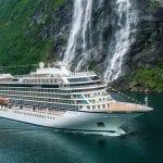 Viking Christens Third Ocean Cruise Ship, Viking Sky